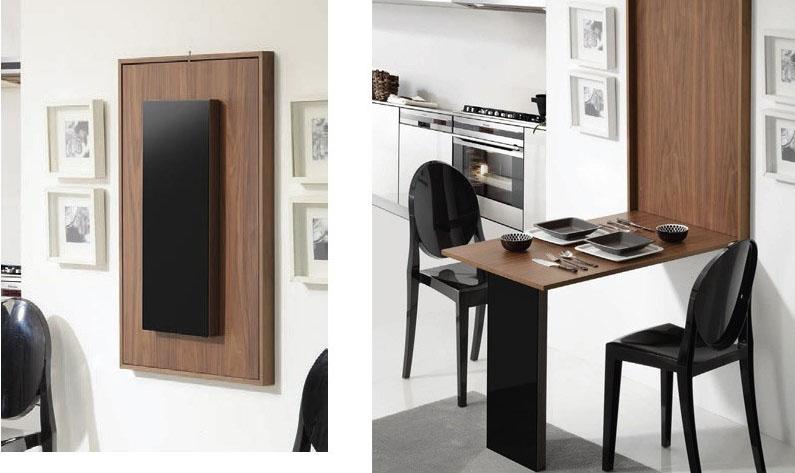 Mesas de comedor para poco espacio casa dise o - Mesas de comedor para espacios reducidos ...