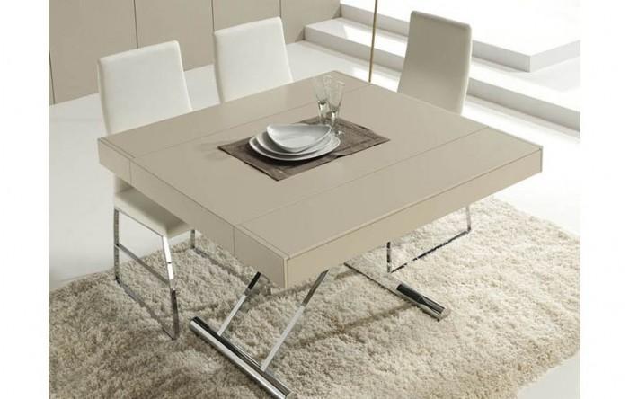 Mesa de centro autom tica elevable y extensible for Mesa de centro elevable y extensible