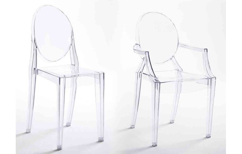 SILLA TRANSPARENTE GHOST
