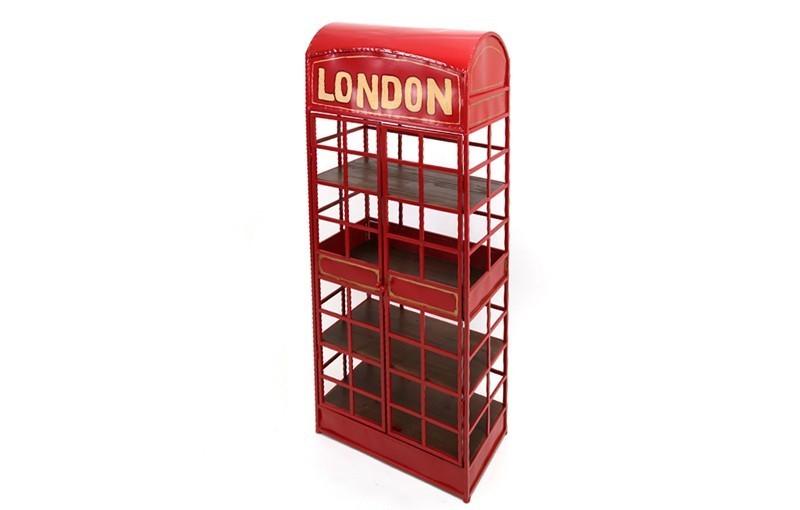 ESTANTERÍA CABINA TELEFÓNICA LONDRES