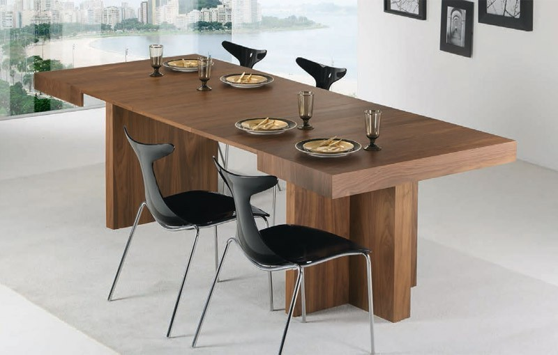 Mesas De Comedor Cuadradas Extensibles. Simple Mesas De ...