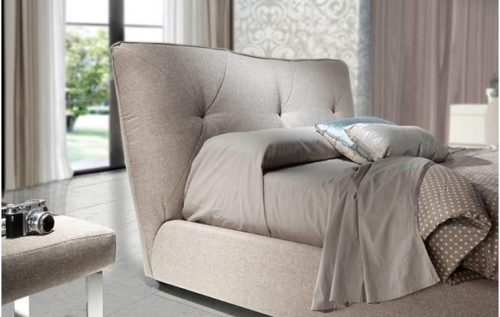 Cama tapizada con canap abatible - Canapes para camas ...