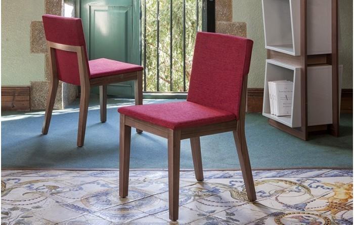 Silla de comedor moderna de madera for Ver sillas de comedor modernas