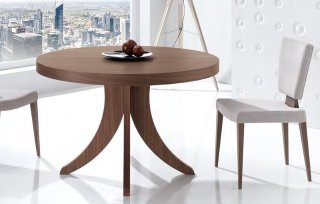 mesa comedor redonda extensible