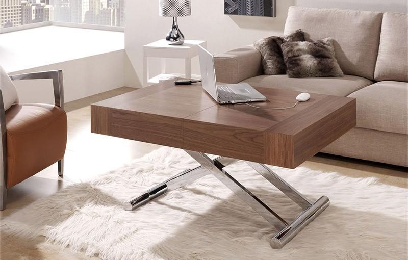 mesa elevable y extensible